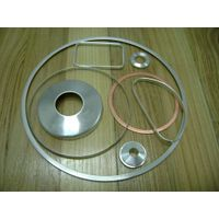 Flat Aluminum sealing Gasket for staple fiber