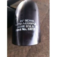 ASTM A420 WPL6 pipe fittings elbow tee reducer cap cross thumbnail image