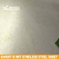 gold vibration polish 304 stainless steel sheet