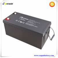 Deep Cycle Lead Acid Battery 12V300ah for UPS System