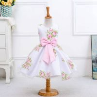 2016 hot sale wholesale summer flower girl dress