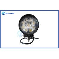 Hot sell high quality 4.3 inch 27 watt round LED Work Lights Automotive Off road car lights