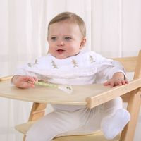 LAT Free Shipping 100% cotton muslin Baby feeding pillow nursing pillow with high quality