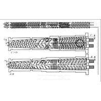 Conical Twin Screw Barrel for Plastic Machine