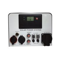 Off-grid small protable hybrid solar power system 300W 220V for indoor