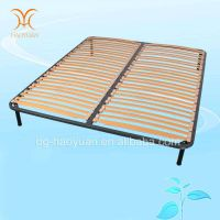 China Manufacturer Modern Bedroom Furniture Luxury Wooden and Metal Bed Frame