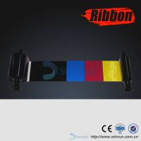 R3013 Printer Ribbon for Evolis YMCKO Half Panel Color Compatible Ribbon - 400 prints/roll