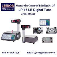 Supermarket Barcode Label Scales, Price Computing Multi-language Printing Platform Weighing System thumbnail image