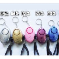 Promotion Gift 120dB Anti Attack Security LED Personal Alarm /kids personal alarm/elderly alarm thumbnail image