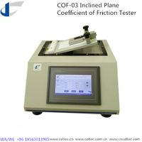 Inclined plane coefficient of friction tester ASTM D202 thumbnail image