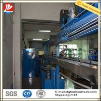 The latest technology using in plasatic twist tie making machine from Chinese manufacturer