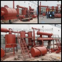 Waste tyre recycling plant/ scrap tyre pyrolysis plant