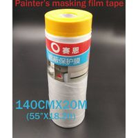 house painting masking film with tape  140CM wide
