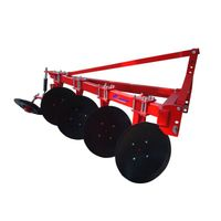 Farm trailer tractor disc plough