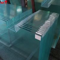 China Building Glass Factory Ultra Clear Tempered Glass Low Iron Toughened Glass Factory thumbnail image