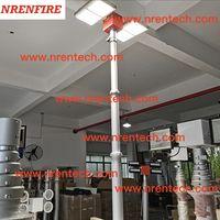 6m pneumatic telescopic mast light 4x180W LED