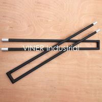 U Type Silicon Carbide SiC heating elements up to 1600C