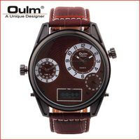 Hot sale Oulm brand quartz men watch HP3581