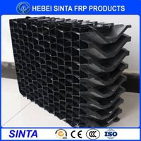 HVAC Cooling Tower Cellular Air Inlet Louver
