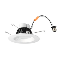 12W E26 Kit 6inch Dimming led recessed downlights