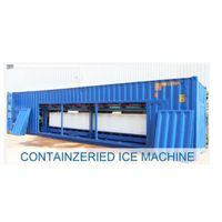 Containerized Block Ice Machine Direct-cooling type