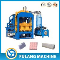 QTF4-15C fully automatic fly ash concrete hollow brick making machine for sale thumbnail image