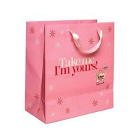 Factory directly Lovely birthday pink gfit bags