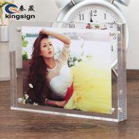 Kingsign factory customize clear acrylic photo frame