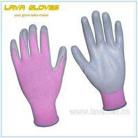 Pink Nitrile Garden Glove for Women as Atlas RB1042-6 thumbnail image