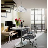 Lighting resin pendant lamp modern brief fashion parlor white finished color