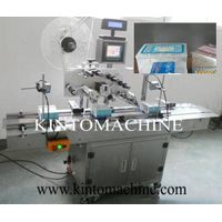 Automatic plane/top labeling machine