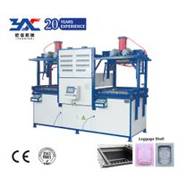 PC hard shell trolly luggage forming machine auto type