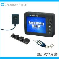 Remote control mini dvr and camera security system