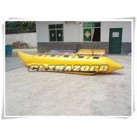 Inflatable banana boat rowing boat good price thumbnail image