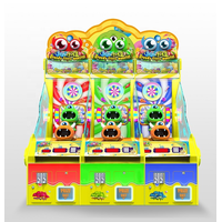 Large-scale video game multiplayer parent-child gluttony lottery game machine