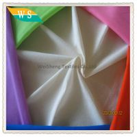 wholesale 100% polyester fabric for lining and pocket