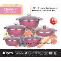 Dessini 10pcs cookware set with marble coating thumbnail image