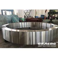 Riding ring of rotary kiln, rotary dryer