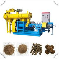 Floating Fish Feed Extruder Machine AMS-DSP60