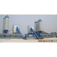 Concrete mixing plant(HZS75)