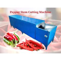 Pepper stem cutting machine   Chili destemming machine