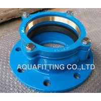 restrainted flange adaptor for PE pipe