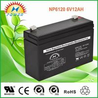 lead acid /sealed /ups/solar/ battery6V12Ah