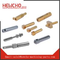 Brass Straight Shoulder Dowel Pins