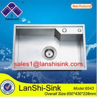 welded stainless steel kitchen sinks
