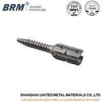Metal injection molding Mim Pedical Screw Parts for medical parts thumbnail image