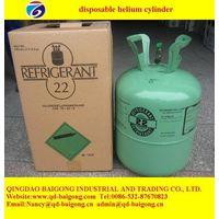 welding steel disposable helium cylinder