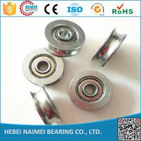 Cheaper price u /V sliding door roller bearings 5*21*7mm