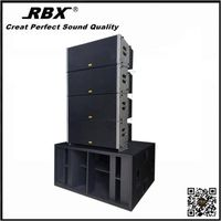 X-218B Dual Professional outdoor PA Sound Speaker Rigging Line array