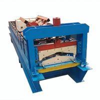 Best Selling Roof Panel RidgeCap Roll Forming Machine thumbnail image